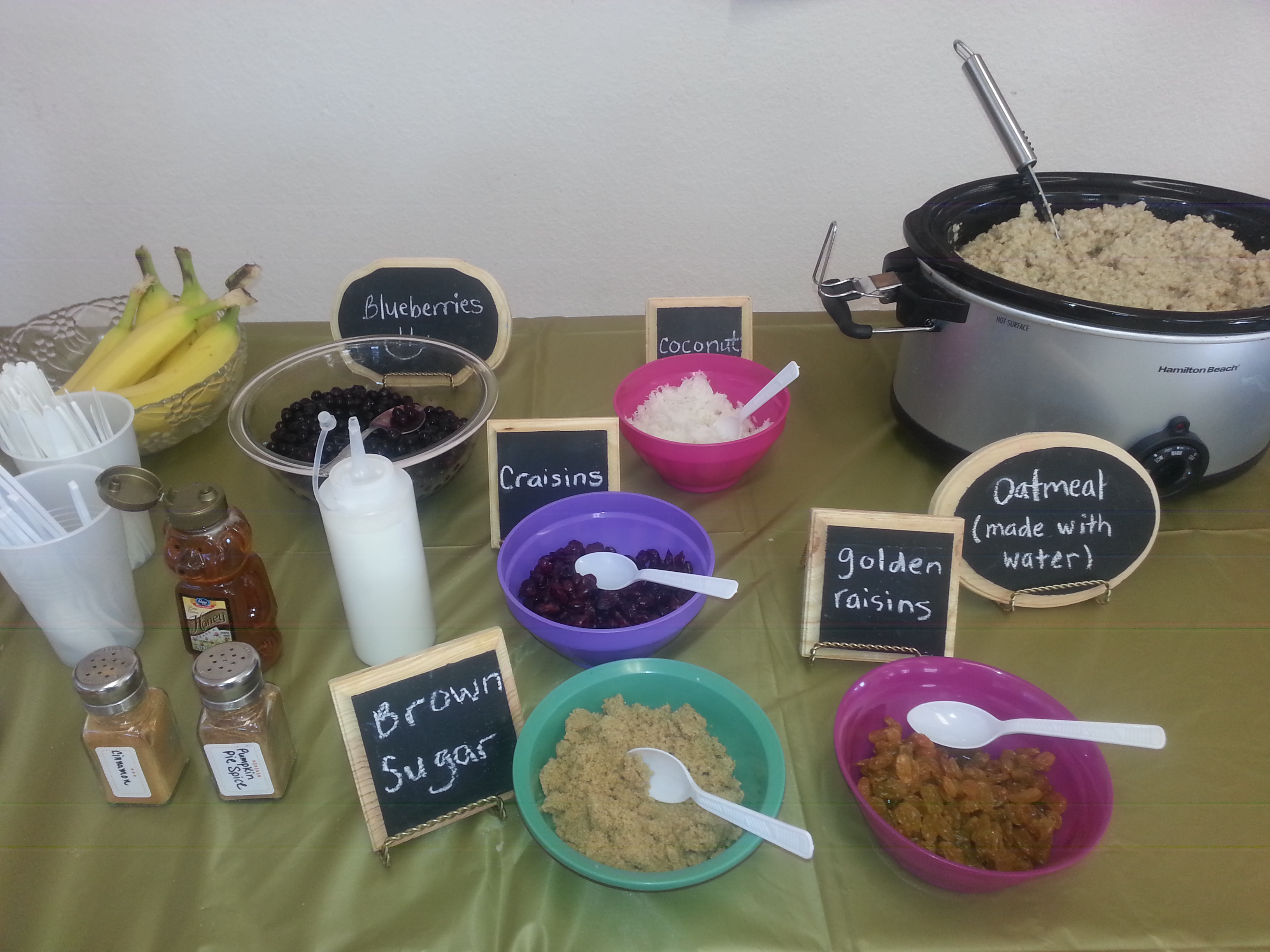Bunco Christmas Party Ideas Part - 44: Oatmeal Bar